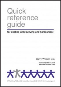 How to handle workplace bullying